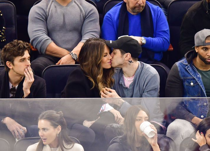 pete davidson kate beckinsale kissing