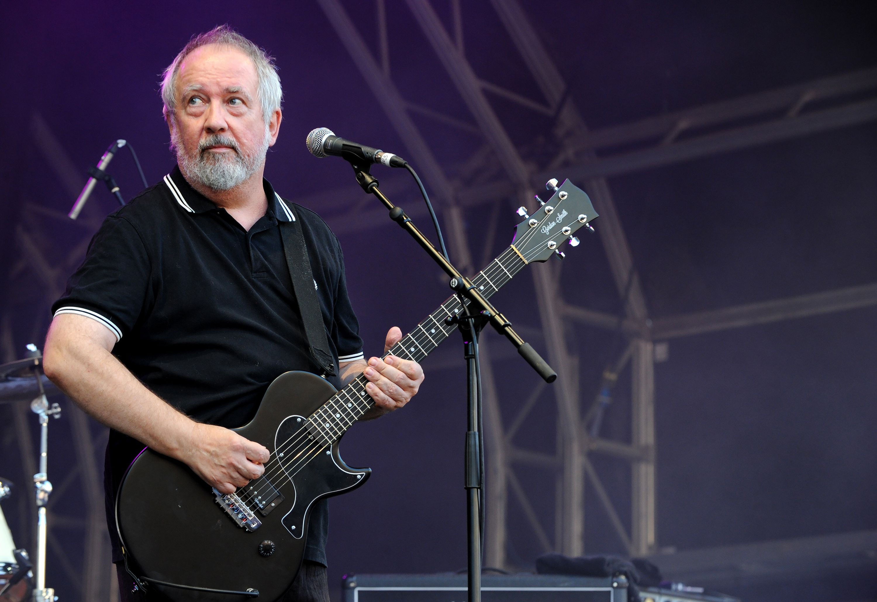 Pete Shelley of Buzzcocks performs, Sounds of the City, July 2018