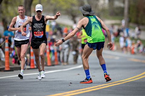 A 5 Time Boston Finisher Shares His Love for the Race—and