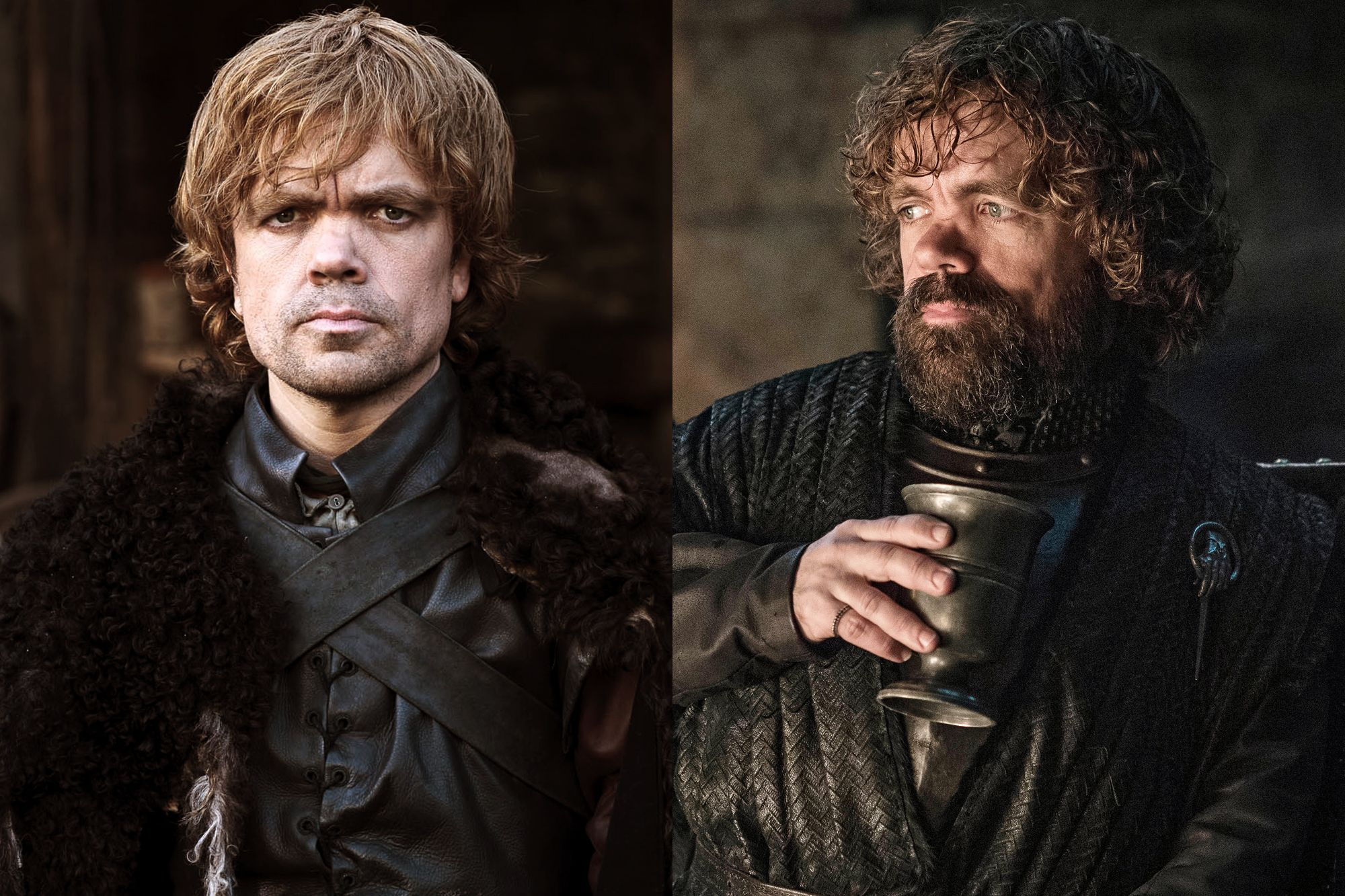 Peter Dinklage as Tyrion Lannister Season One to Season Eight.