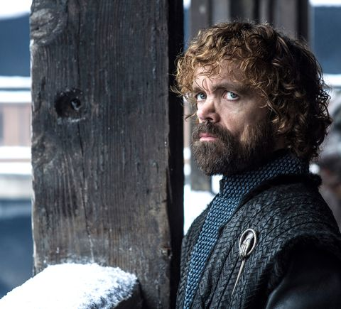 Peter Dinklage nel ruolo di Tyrion Lannister, Game of Thrones stagione 8