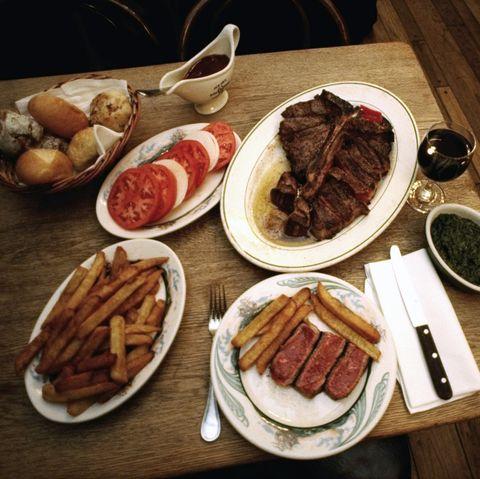 Peter Luger's Steak House, 178 Broadway, Brooklyn.