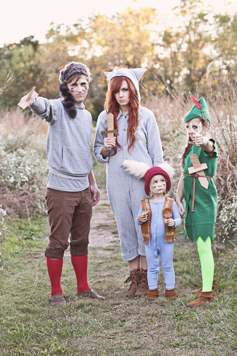 peter pan lost boys halloween costumes
