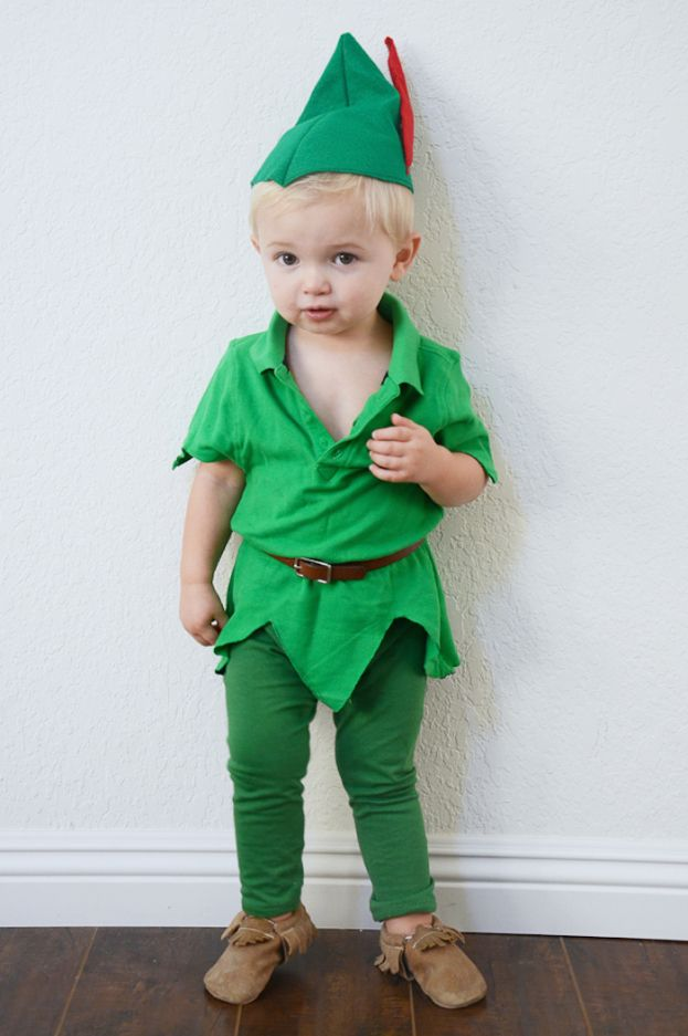 Diy Peter Pan Halloween Costume For Boy