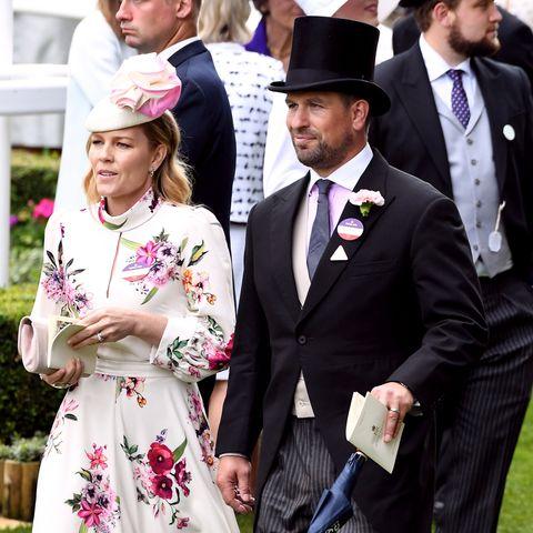 Peter Phillips y su mujer Autumn
