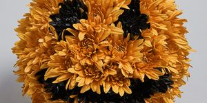 Peter Pumpkin Flower Arrangement