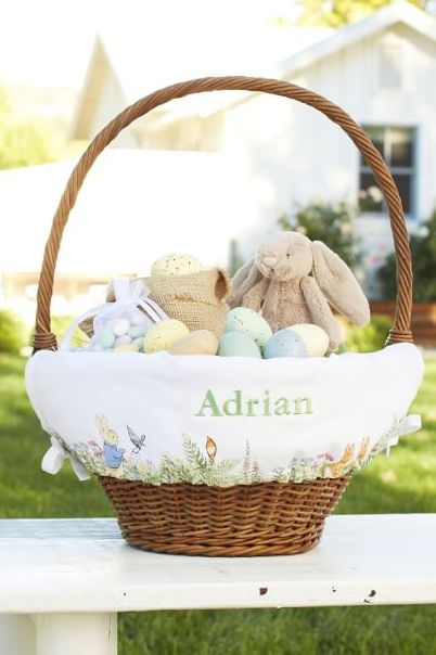 Pottery Barn Kids Peter Rabbit Larger Liner Basket