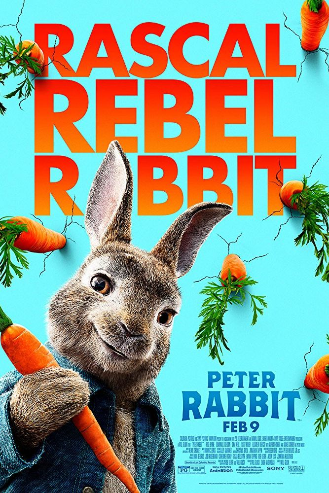 peter rabbit - movies based on books