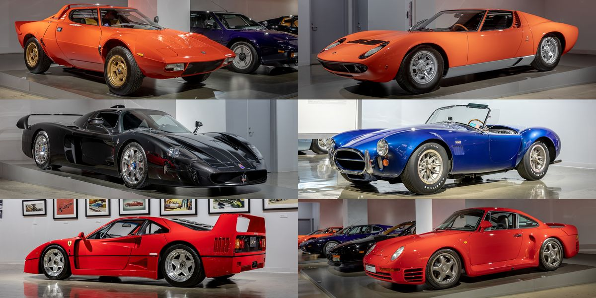 See the 25 Greatest Supercars Ever Made at the Petersen Automotive Museum