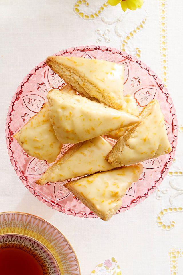 petite orange vanilla scones