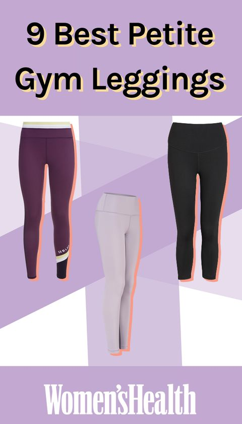 98f4e1855f91bd 9 Petite Workout Leggings - No More Bunched Ankles