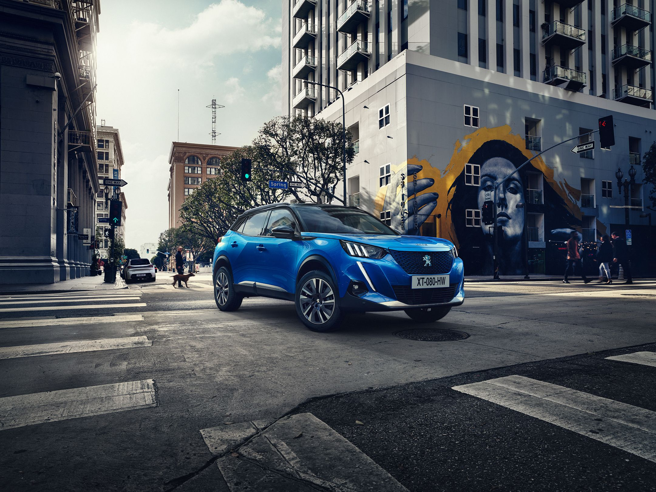 New Peugeot 2008 Crossover – Available with an Electric Powertrain