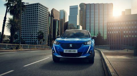 2020 Peugeot 2008 (Euro-spec)