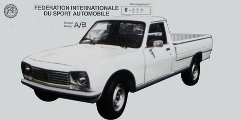 Land vehicle, Vehicle, Car, Classic car, Sedan, Pickup truck, Peugeot, Peugeot 504,