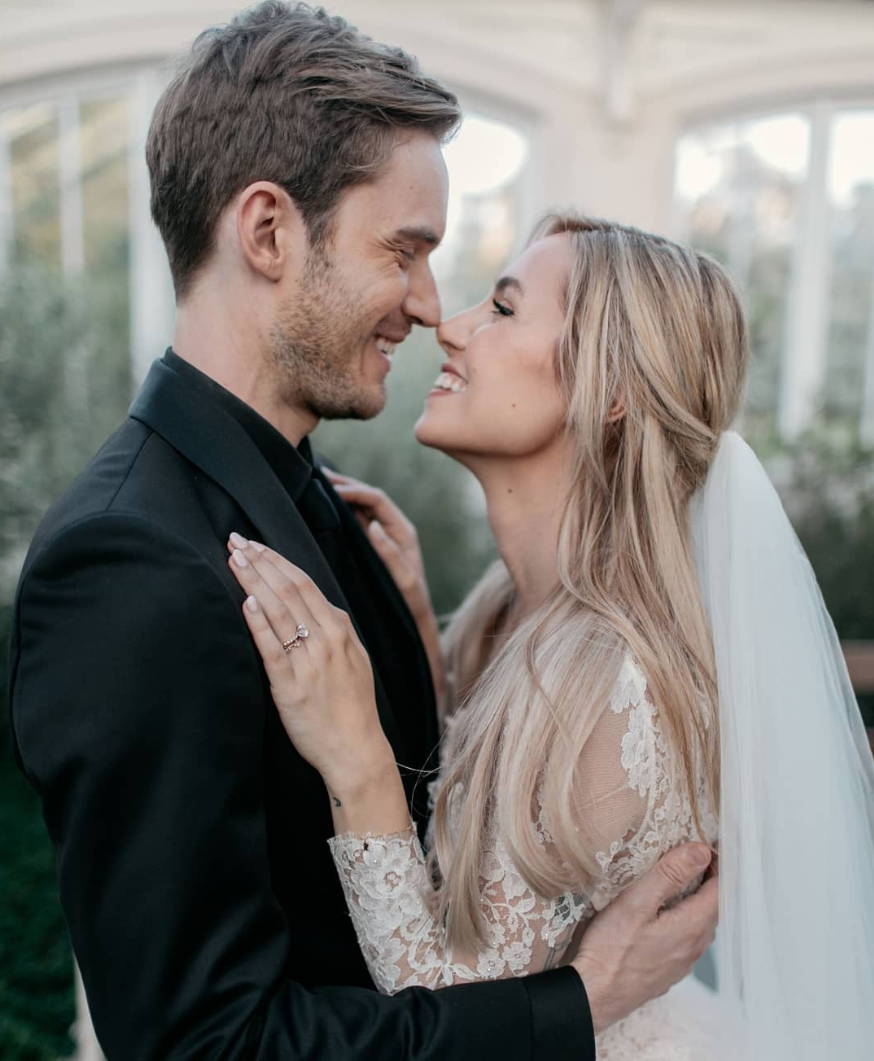 PewDiePie Just Got Married and It Was Basically a YouTube Royal Wedding