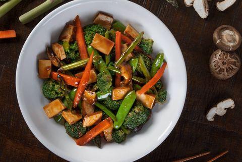 Dish, Food, Cuisine, Vegetable, Carrot, Ingredient, Vegetarian food, Vegan nutrition, Salad, Stir frying,