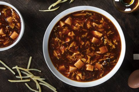 Dish, Food, Cuisine, Ingredient, Sarapatel, Taco soup, Recipe, Curry, Stew, Produce,