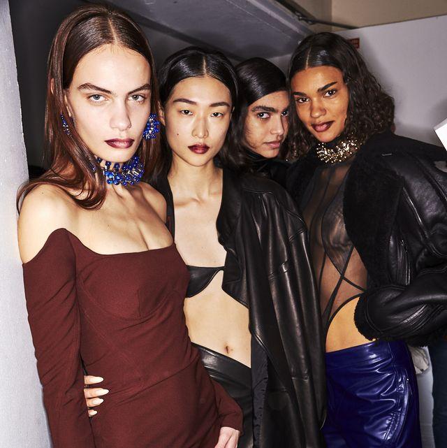 Fashion, Fashion model, Event, Dress, Fashion design, Photography, Black hair, Leather jacket, Model, Little black dress,