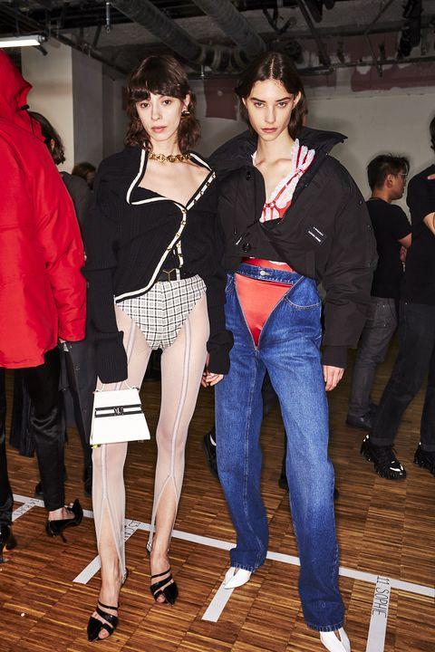 Clothing, Jeans, Fashion, Leg, Event, Footwear, Denim, Fashion design, Outerwear, Textile,