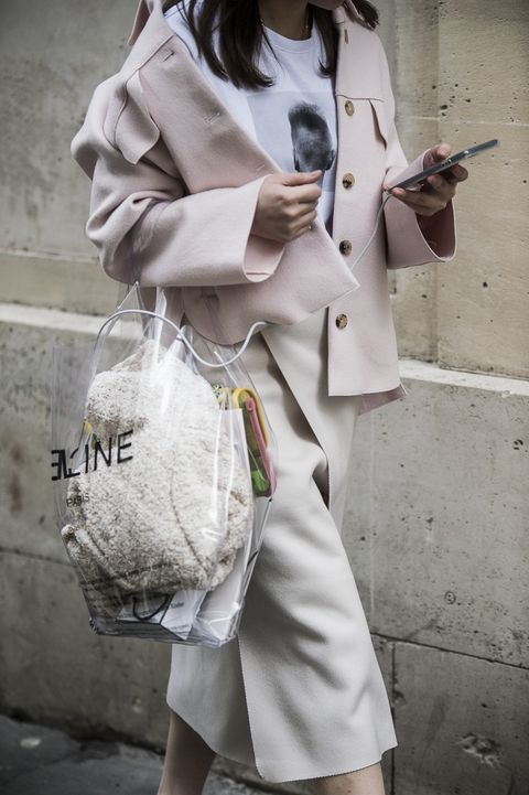 White, Street fashion, Clothing, Photograph, Trench coat, Fashion, Snapshot, Beauty, Coat, Outerwear,