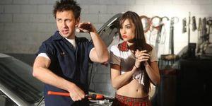 James Gunn y Sasha Grey rodando Pg Porn