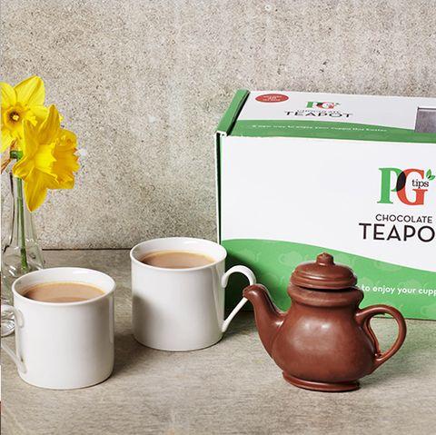 pg tips chocolate teapot
