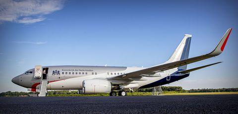 Presentation Of New Government Plane In Woensdrecht