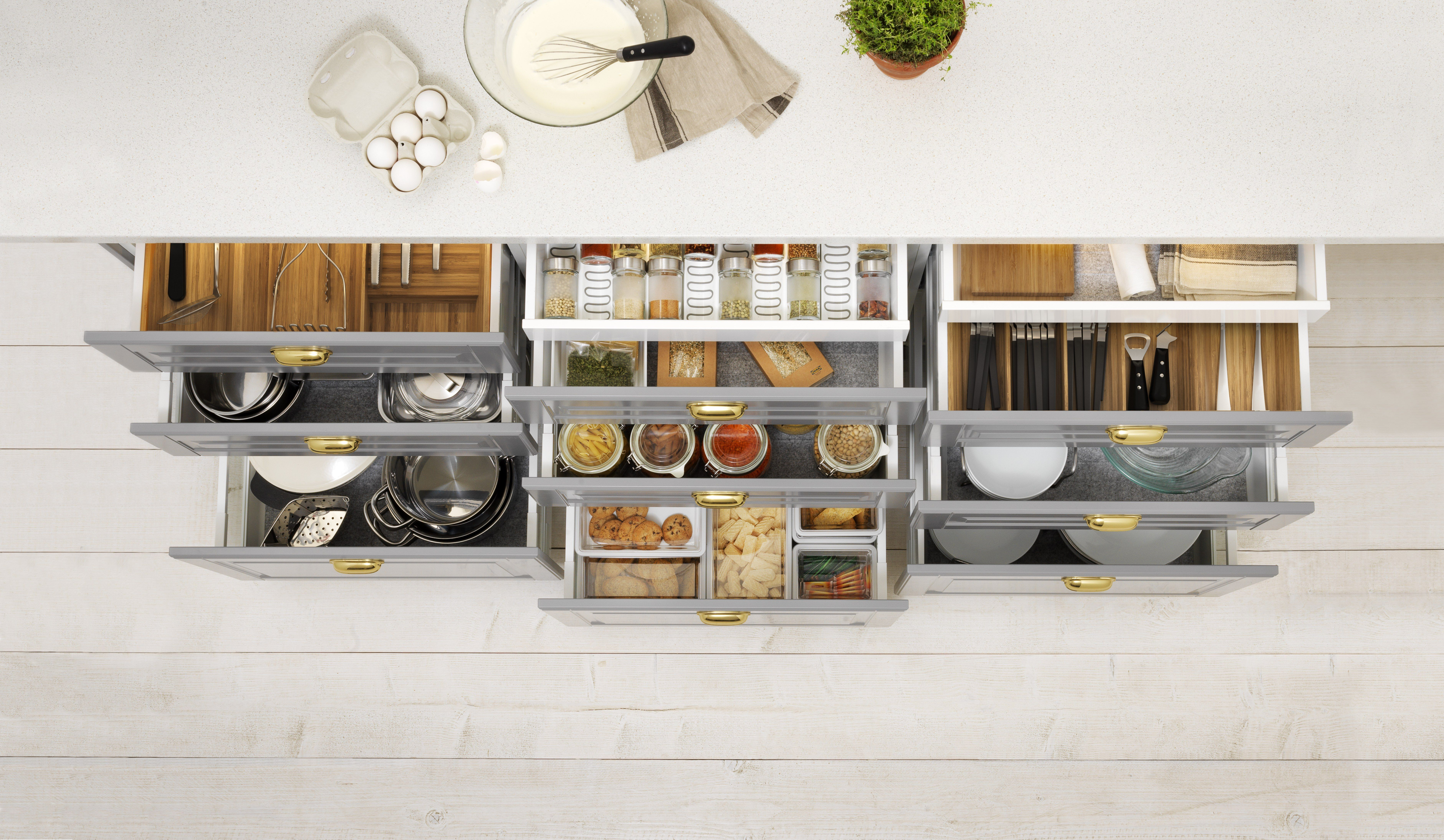 How To Master The Six Zones Of Kitchen Organization