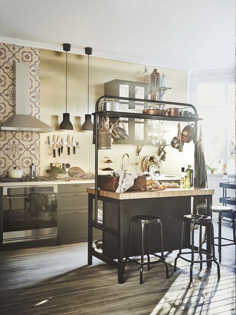 Furniture, Room, Interior design, Table, Building, Design, Material property, Dining room, Architecture, Floor,