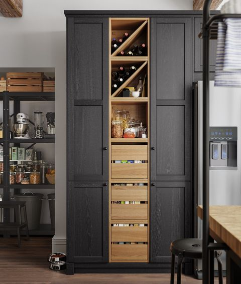 Ikea Kitchen Inspiration How To Build The Perfect Kitchen Pantry