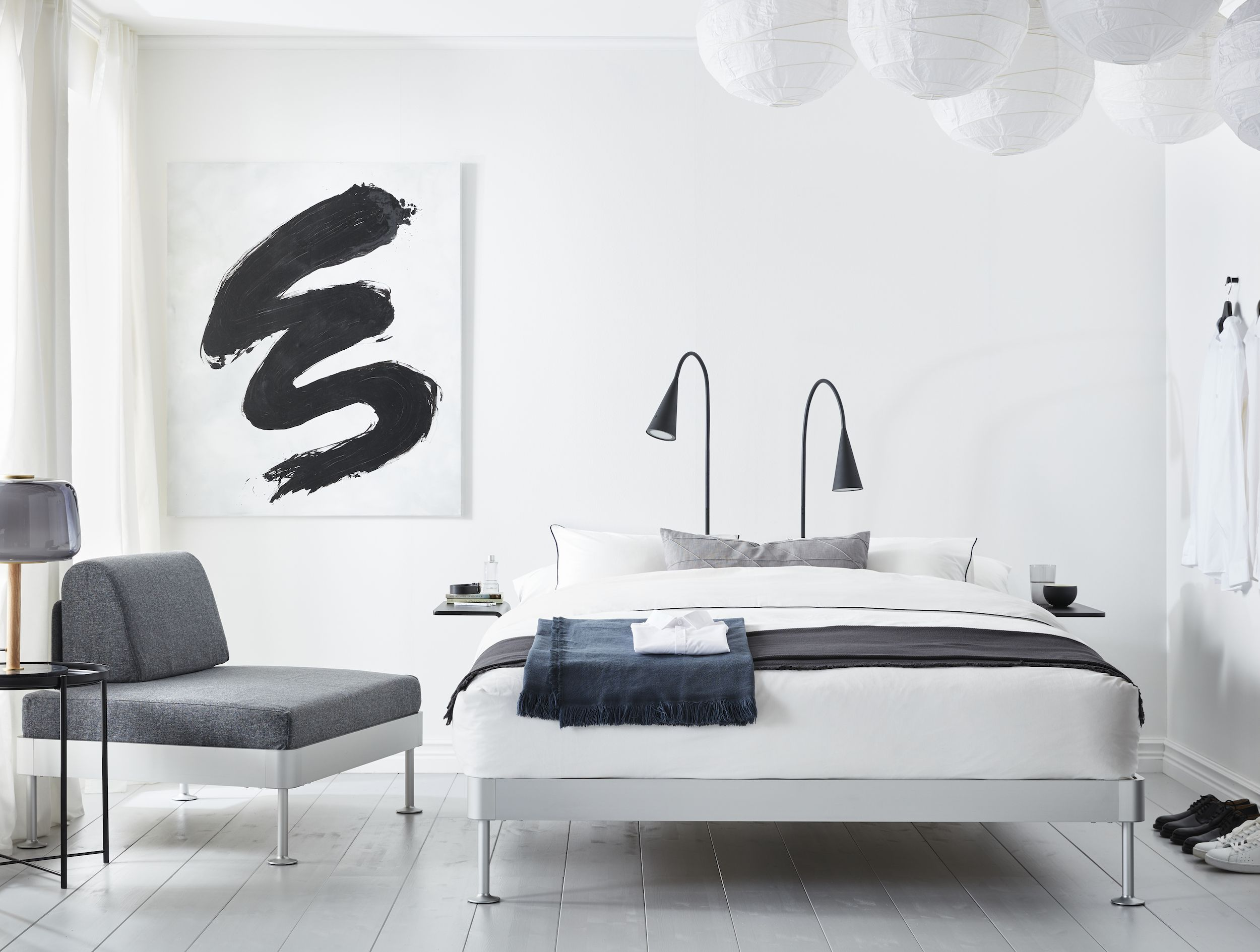 Tom Dixon Launched A Bedroom Line For Ikea That Makes Use Of Every Inch Space You Have