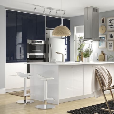 Furniture, Room, Interior design, Property, Cabinetry, Table, Kitchen, Building, Cupboard, Countertop,