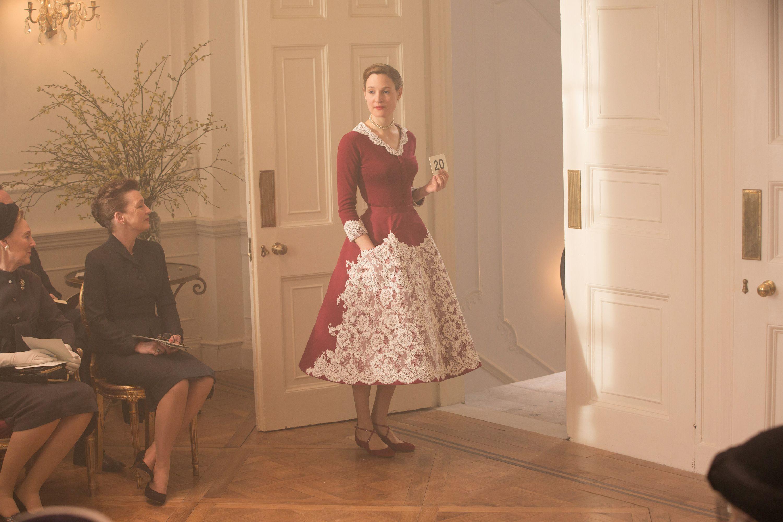 Phantom Thread red dress