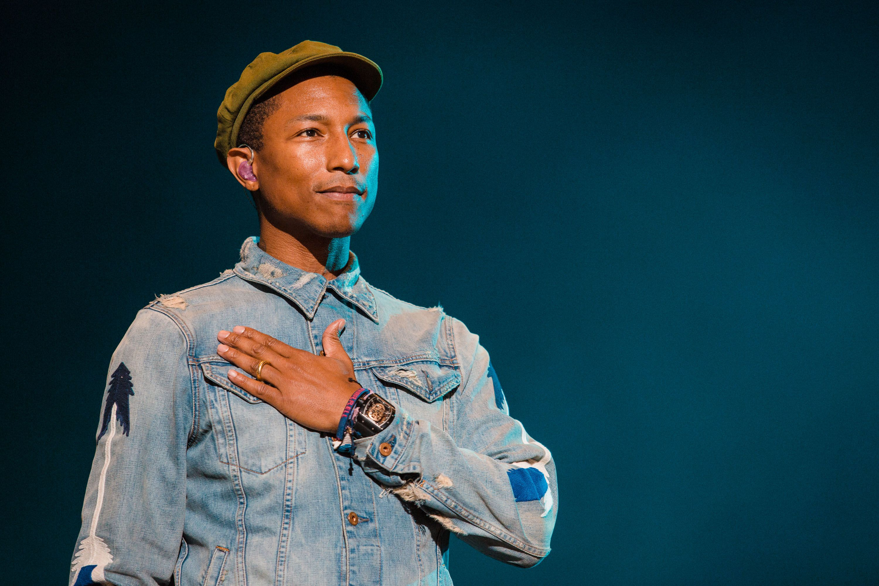 Pharrell Sends Cease-and-Desist to Trump for Playing 'Happy' At Rally Hours After Synagogue Shooting