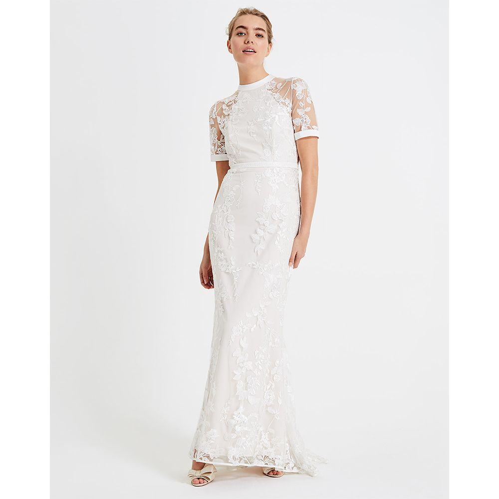 Phase Eight Poppy Embroidered Wedding Dress