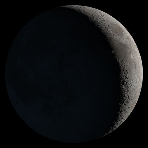 Moon, Astronomical object, Darkness, Atmosphere, Lunar eclipse, Sky, Crescent, Space, Night, Midnight,