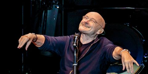 Phil Collins Performs At Forum Assago in Milan
