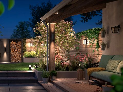 new outdoor lighting collection by philips hue