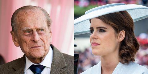 Prince Phillip Princess Eugenie