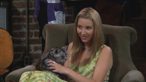 """Lisa Kudrow es Phoebe en """"Friends"""""""