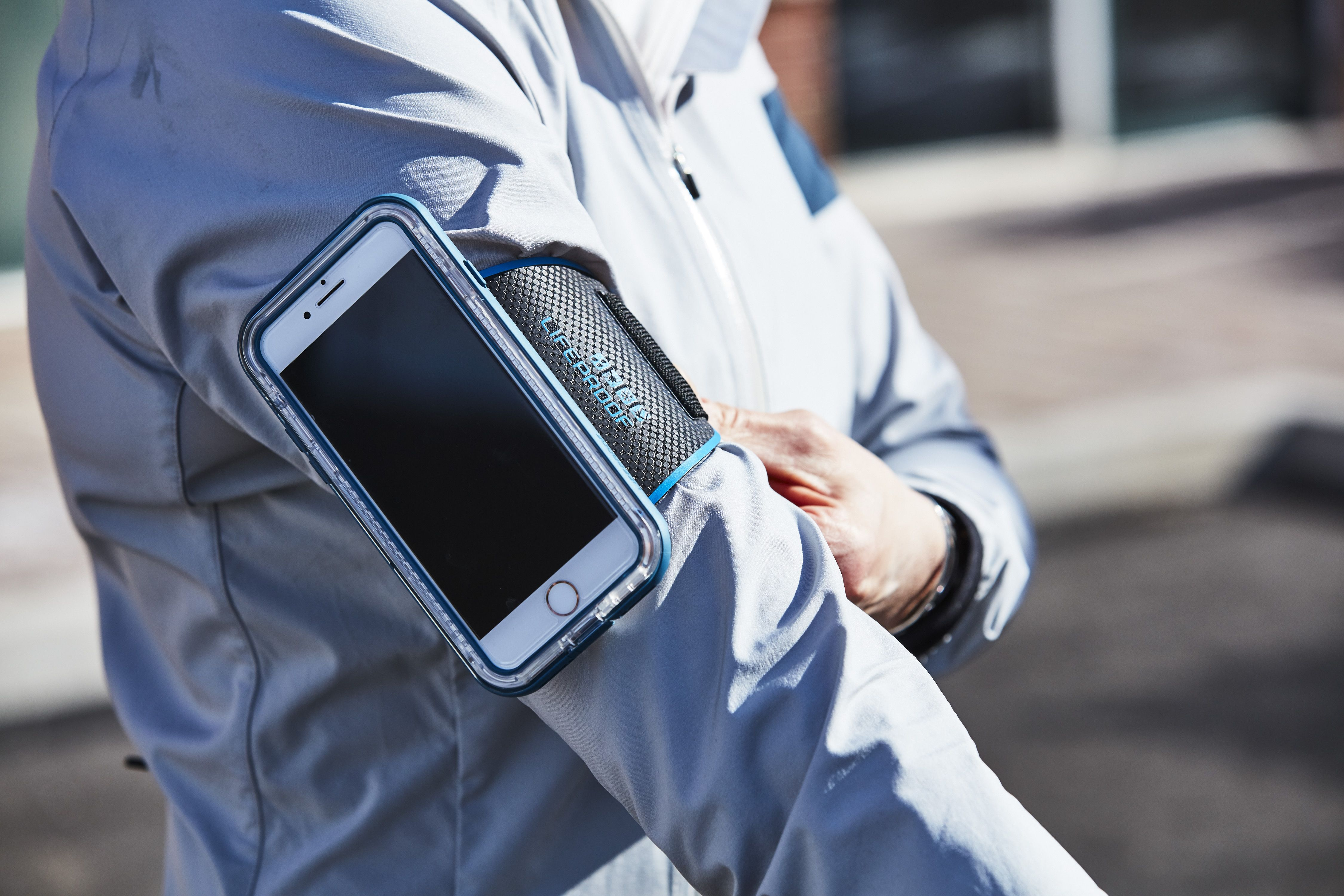 Armbands for Carrying Your Phone on a Run