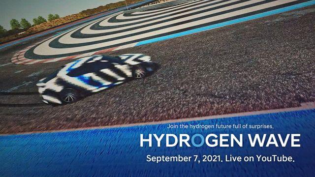 hyundai hydrogen fuel cell sports sedan