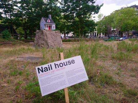 Land lot, Nature reserve, Natural landscape, Tree, Grass, Grass family, Signage, Soil, House, Sign,