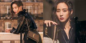 張鈞甯全黑穿搭美翻巴黎時裝週!出國不離身的兩款 Saint Laurent 小黑包大公開