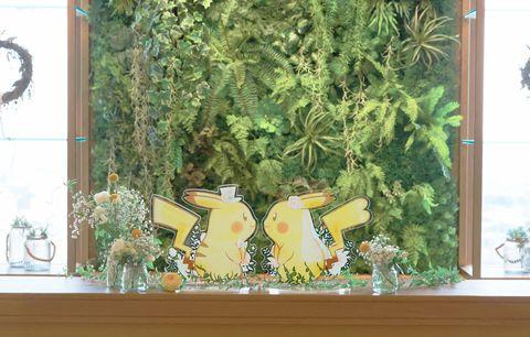 Yellow, Organism, Tree, Window, Room, Plant, Mural, Art, Wallpaper,