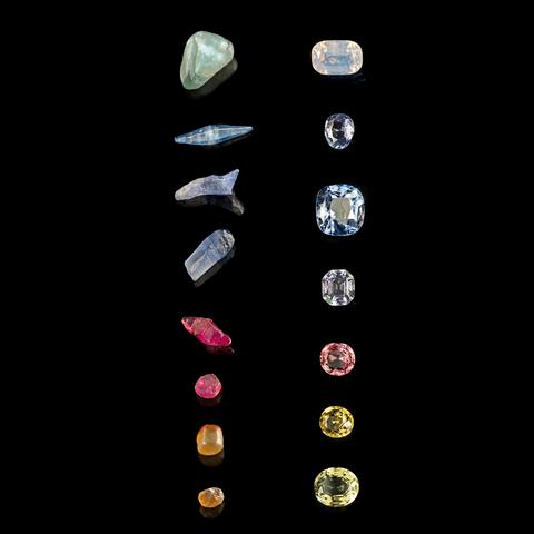 ヴァンクリーフ&アーペル 貴石 鉱物 ルビー