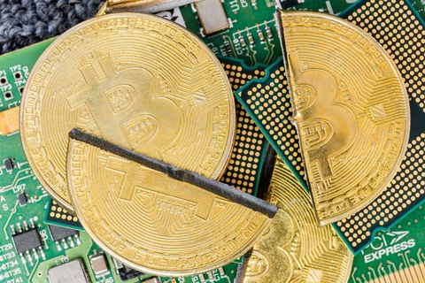 Cryptocurrency exchange lock out