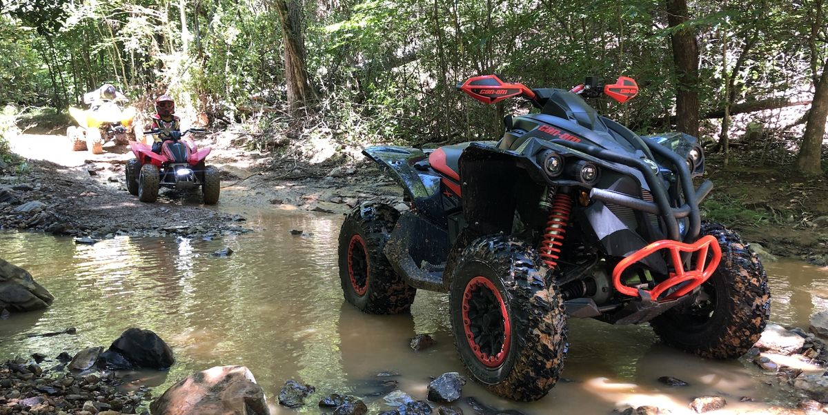 Off-Road with onX and a Can-Am Renegade 1000 XC