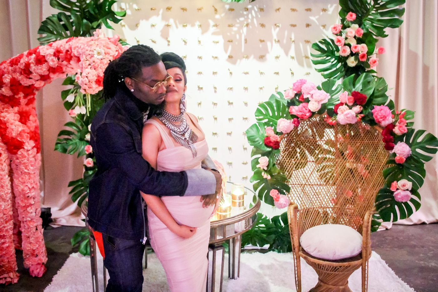 Cardi B Baby Shower Video Cardi B Offet Baby Shower Video And Photos