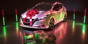 Nissan Leaf villancico